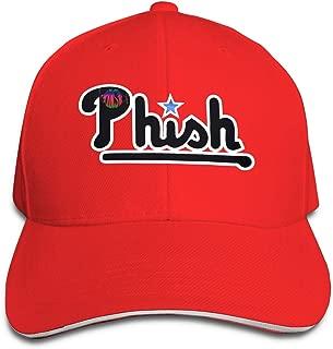 Phish Phillies Retro Logo Visor Hat Vintage Sandwich Cap Caps