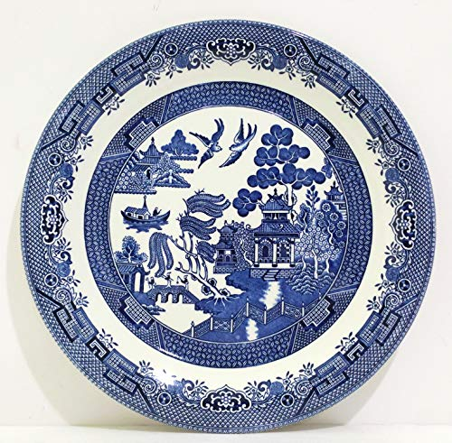 Blue Willow 12 Inch Round Platter