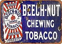 ブナナッツ噛みタバコ壁錫サイン金属ポスターレトロプラーク警告サインヴィンテージ鉄の絵画の装飾オフィスの寝室のリビングルームクラブのための面白い吊り工芸品