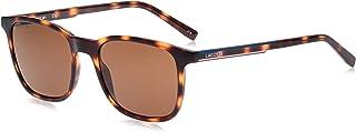 نظارة شمسية للرجال من لاكوست، بني، 53 ملم L915S