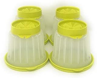 Tupperware Set of 4 Jellette Jello Molds Individual Dessert Cups Margarita Chartreuse