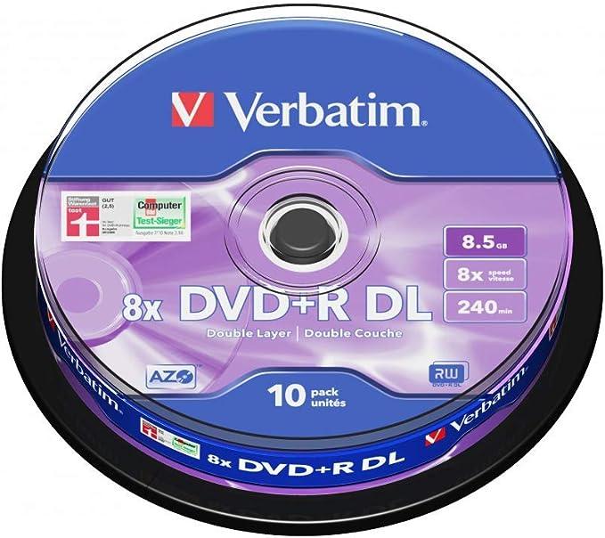 Verbatim D L Dvd R Blanks Computers Accessories