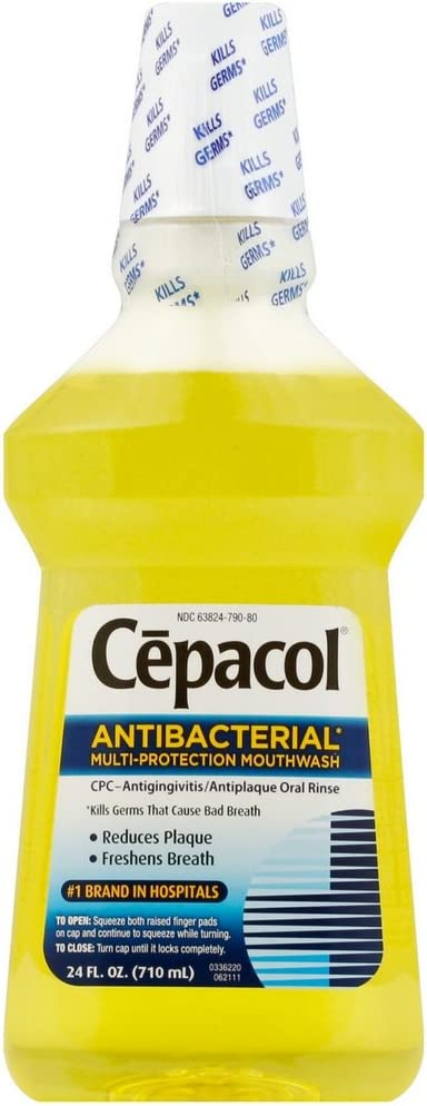 Cepacol Antibacterial Multi-Protection Mouthwash of oz 24 Pack online shopping Discount mail order