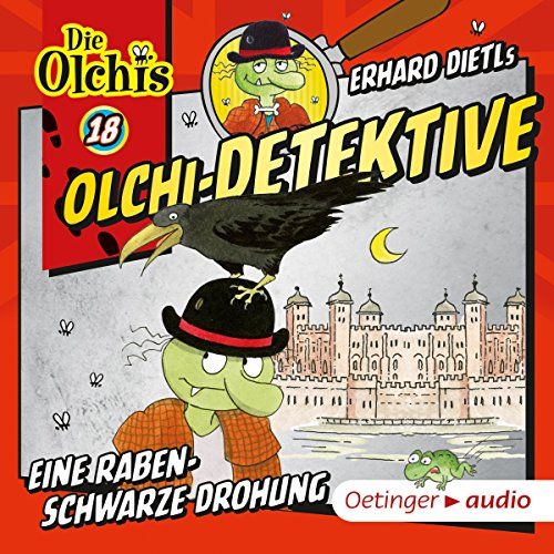 Eine rabenschwarze Drohung     Die Olchi-Detektive 18              By:                                                                                                                                 Erhard Dietl,                                                                                        Barbara Iland-Olschewski                               Narrated by:                                                                                                                                 Peter Weis,                                                                                        Wolf Frass,                                                                                        Patrick Bach,                   and others                 Length: 46 mins     Not rated yet     Overall 0.0