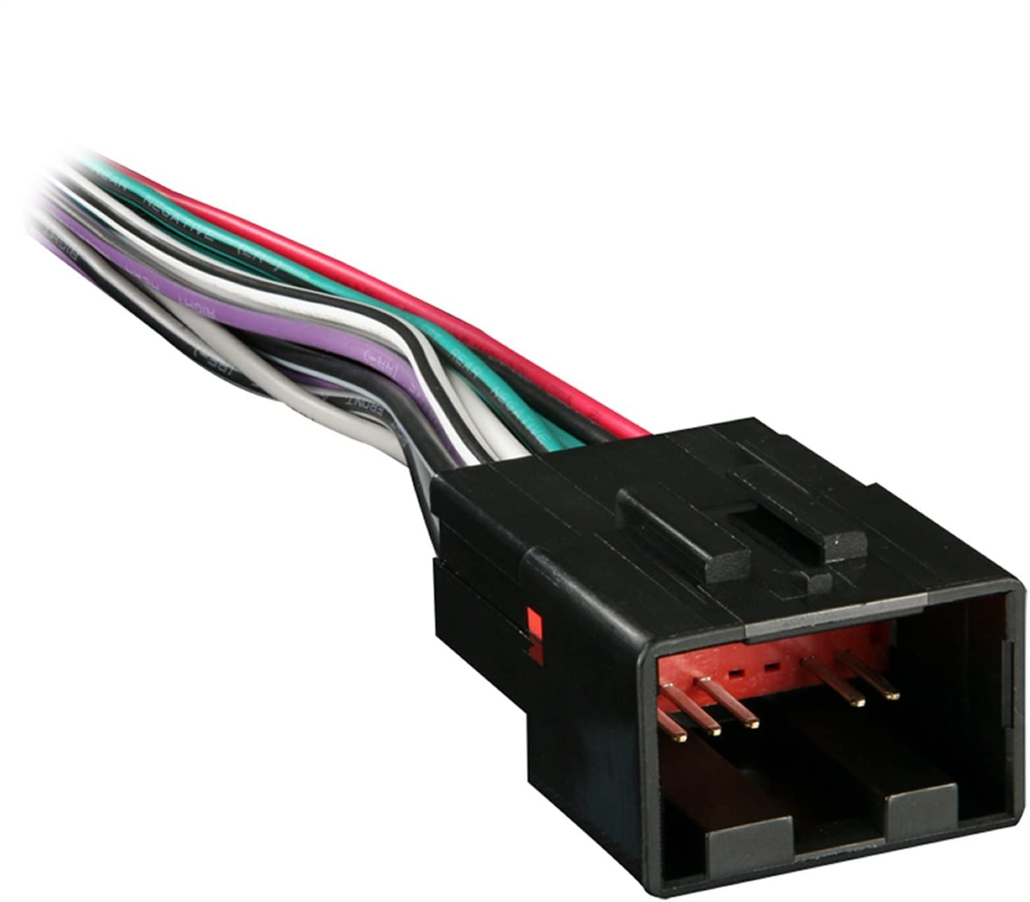 Amazon.com: Metra 70-1771 Radio Wiring Harness for Ford/Lincoln/Mazda 1998-Up  into Car, 16 Pin: Car Electronics | 1998 3 8 Mustang Wire Harness |  | Amazon.com