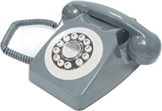 $25 » Rotary Phone, Classic Telephones in The 1970s, Retro Buttons with Hands-Free Function, Large Numeric Keypad Traditional Ph...