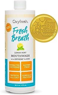 Sponsored Ad - Oxyfresh Fresh Breath Lemon Mint Mouthwash | Award-Winning, Dentist-Recommended Bad Breath Mouthwash - Alco...
