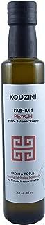 Kouzini Peach White Balsamic Vinegar (250ML Bottle)