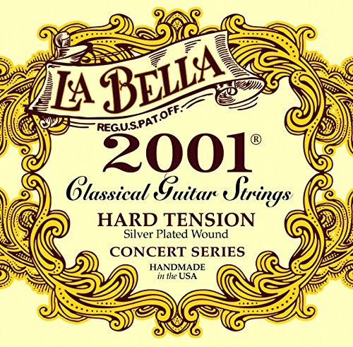 La Bella 7D77H - Juego de cuerdas guitarra clásica