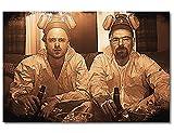 WandbilderXXL  Leinwandbild 'Breaking Bad' 120x80cm - in 6 verschiedenen Größen. Gedruckt auf Leinwand und fertig gespannt auf Keilrahmen. Leinwandbilder zu Top Preisen.