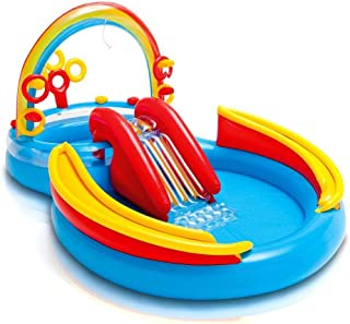 Intex 57453 Rainbow Ring Play Center Toys for 3 Years and Above
