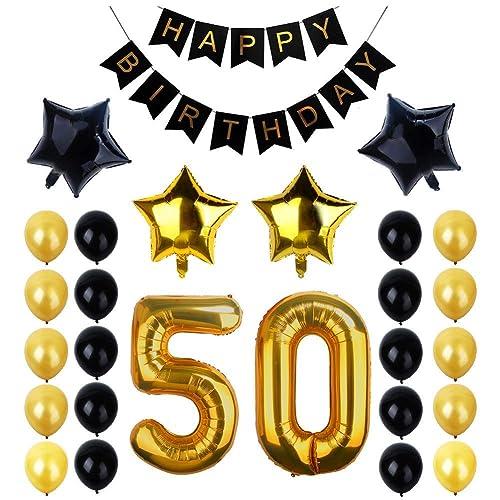 50th Birthday Decorations: Amazon.co.uk