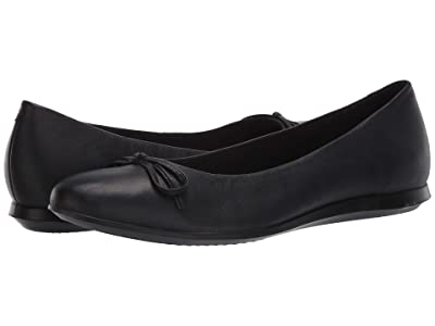 ECCO Touch Ballerina 2.0 (Black Sheep Leather) Women