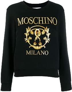 Luxury Fashion | Moschino Womens A171555277555 Black Sweatshirt | Autumn-Winter 19