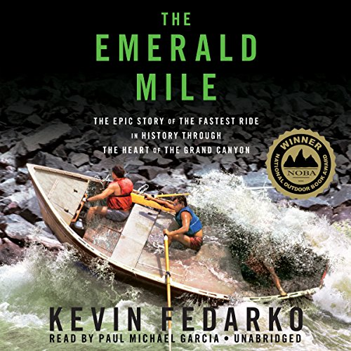 The Emerald Mile audiobook cover art