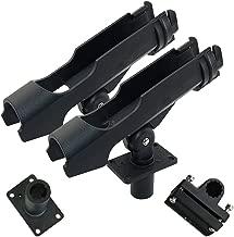 AGOOL Fishing Boat Rods Holder Lock Rod Holder 360 Degree Adjustable Fishing Rod Racks Folding Holder