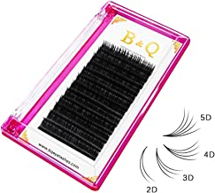 Volume Lash Extensions Easy Fan Volume Lashes 0.03 0.05 0.07 0.10 mm Rapid Blooming Lashes C D curl Mega Volume Lash Extensions 8-18 (C-0.07 mm, 8-15 Mix)