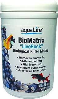 Aquarium Life Support Systems BioMatrix Small Particle Biological Filter Media 750ml LiveRock