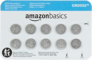 Amazon Basics CR2032 3 Volt Lithium Coin Cell Battery - 10-Pack
