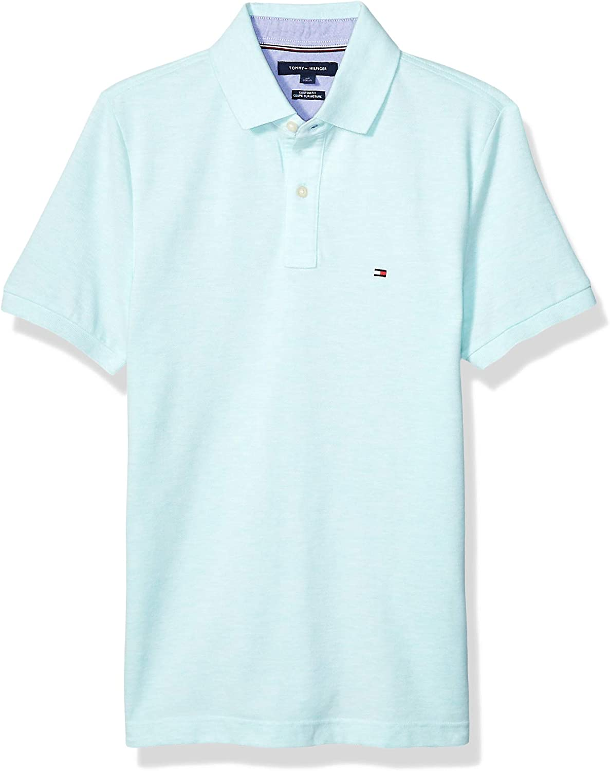 Tommy Hilfiger Men's Short Sleeve Indianapolis Mall Custom Fit Polo in Safety and trust Shirt