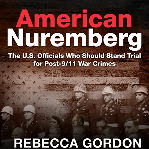 American Nuremberg audiobook cover art