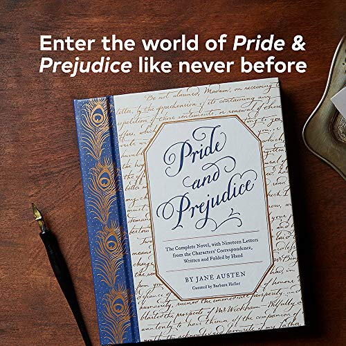 The Letters of Pride and Prejudice: The Complete Novel, with Nineteen Letters from the Characters' Correspondence, Written and Folded by Hand