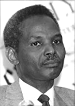 Vintage photo of Portrait of Rilwanu Lukman.