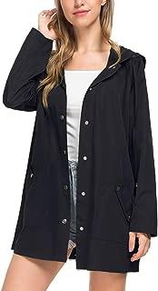 Womens Lightweight Hooded Waterproof Active Outdoor Raincoat Jacket