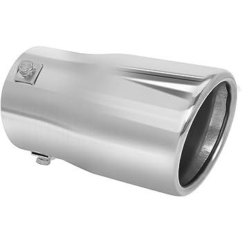 Go Rhino GRT234414 14 X 4 X 2-3//4 Stainless Steel Exhaust Tip