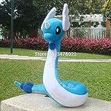 Grocoto Movies & TV - Cuddly Dragonair 26' Dragon Plush Toys Cartoon Soft Hakuryu Stuffed Animal Doll 1 PCs