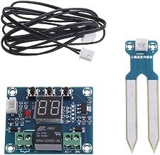 Basik - Sensor de humedad para suelo (12 V, con controlador y módulo de riego automático)