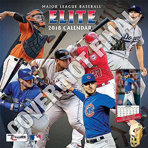 Mlb Elite 2019 12x12 Wall Calendar