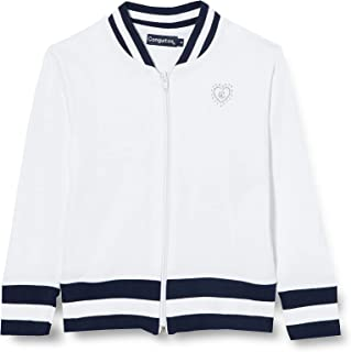 Conguitos Sport Chaqueta ligera de algodón, Blanco, Normal para Niñas