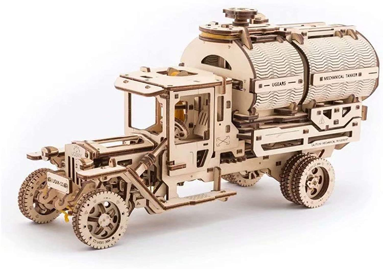 3D Puzzle Getriebe Hebe Achterbahn Form Holz Puzzle Mechanische Modellbaustze Montage Kinder Erwachsene Geschenk Toys-33  18  12,5 cm