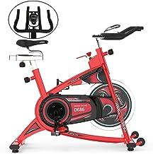 pooboo Exercise Bike 40 lbs Heavy-Duty Flywheel Belt Drive Indoor Exercise Bike for Home Cardio Workout
