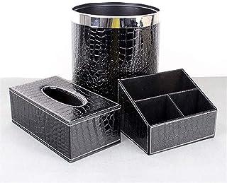 B-fengliu Poubelle + boîte de Rangement + boîte à mouchoirs, Mode créative Style européen boîte à Serviettes découpée Boît...