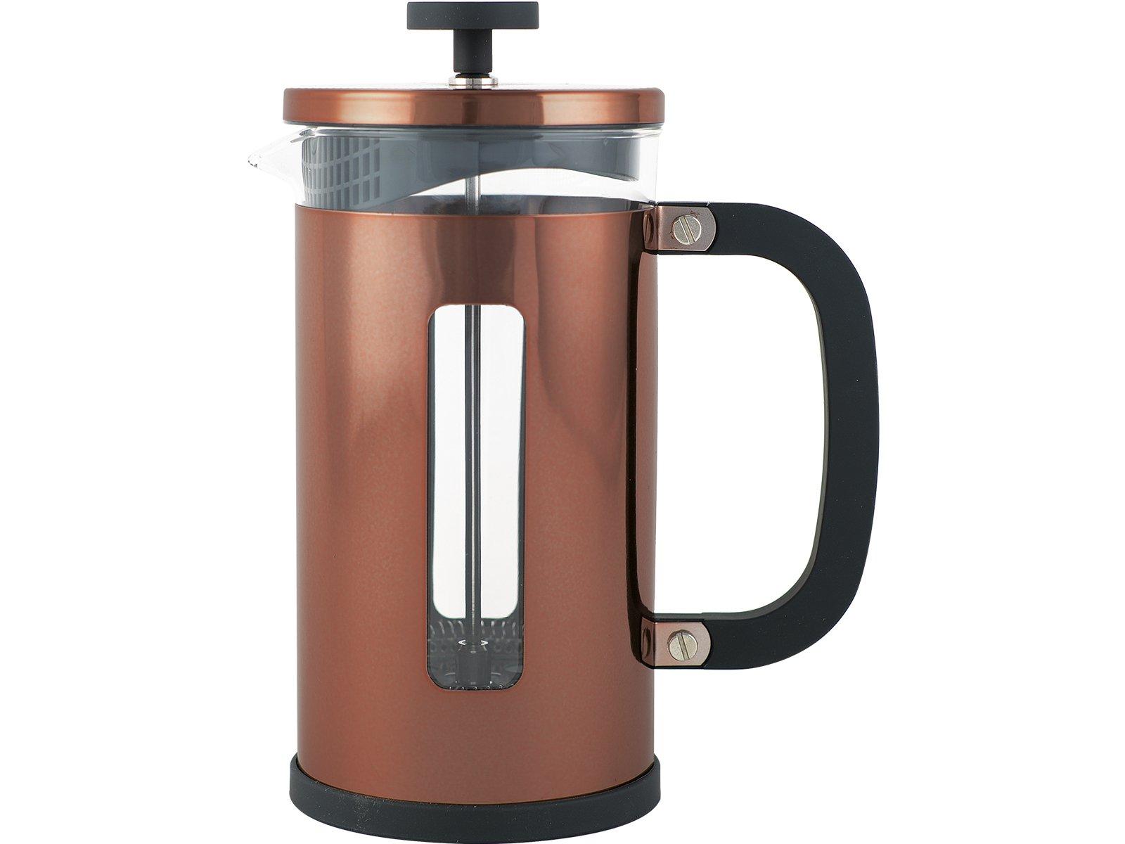 Creative Tops 1000 ml Pisa – Cafetera de émbolo, acabado en cobre, 8 tazas, con cuchara: Amazon.es: Hogar
