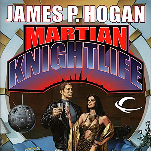 Martian Knightlife audiobook cover art