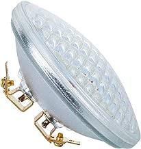PAR36 LED Landscape Bulbs 6W 3000K Warm White, AC/DC12V, 700Lumens 36W Halogen Equivalent, Water Resistant, PAR36 LED Bulb for Landscape Lighting, off-road Vehicles (Pack of 1)