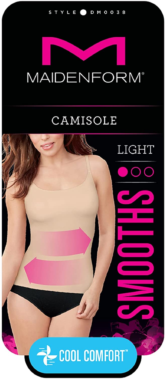 Maidenform Women's Cover Your Bases SmoothTec Shapewear Camisole DM0038