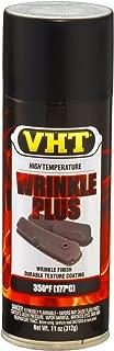 VHT (ESP201007-6 PK) Black High Temperature Wrinkle Finish - 11 oz. Aerosol, (Case of 6)