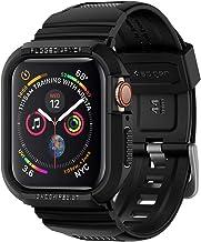 【Spigen】 Apple Watch バンド 一体型 ケース 【 Series 5 / Series 4 44mm 対応 】落下 衝撃 吸収 ラギッド・アーマー プロ 062CS25324 (ブラック)