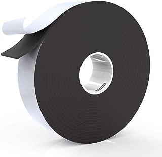 LLPT Foam Insulation Tape 1 Inch x 50 Feet Multiple Sizes for Door Window Weather Strip Outdoor Indoor Residue Free Weatherproof Adhesive(EFT150)