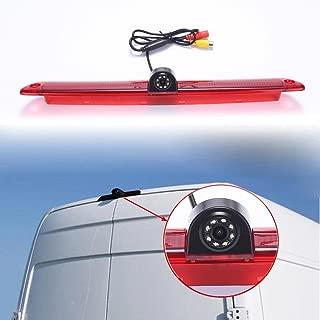 Navinio Car Third Roof Top Mount Brake Lamp Camera Brake Light Rear View Backup Camera MB Sprinter W906 Van VW Crafter Transporter (Model 1= Brake Light Camera)