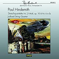 Hindemith;String Qrts.2 & 6