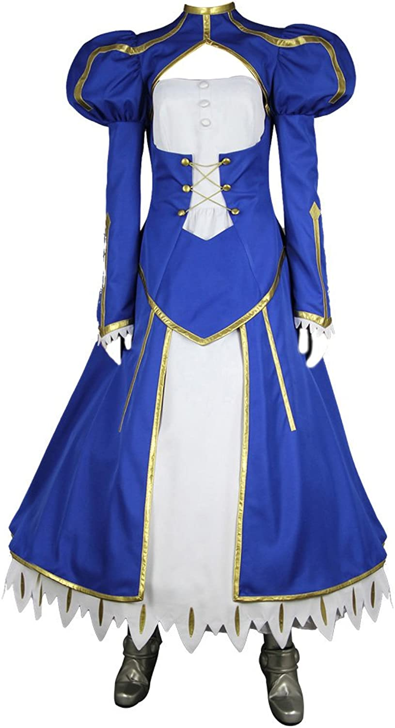Fate Stay Night Cosplay Costume Saber Swordsmen Suit Movie Ver. Dx All