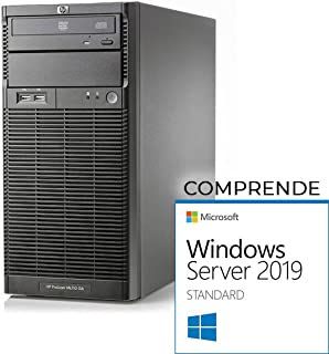 HP ML110 G6 Tower Xeon Quad Core X3430-16gb RAM - 2X 500 GB SATA - Raid - Windows Server 2019 Standard (Reacondicionado)