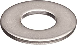 Made in US 0.068 ID 0.125 OD Steel Flat Washer 0.025 Nominal Thickness Pack of 100 #0 Hole Size