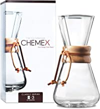 Chemex 1-3 Cup Houten Hals Koffiezetapparaat