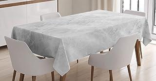 ABAKUHAUS Marbre Nappe, Effets Pastel Onyx, Linge de Table Rectangulaire pour Salle à Manger Décor de Cuisine, 140 cm x 20...